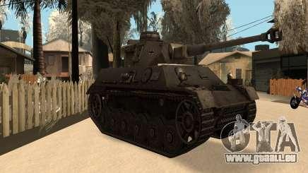 Panzerkampfwagen für GTA San Andreas