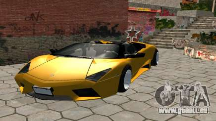 Lamborghini Reventon Shakotan pour GTA San Andreas