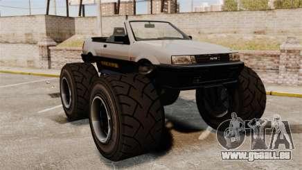 Futo Monster Truck für GTA 4