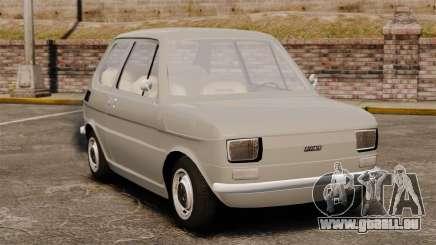 Fiat 126 v1.1 für GTA 4