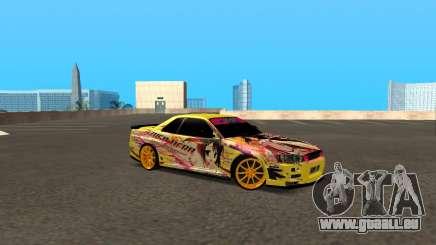Nissan Skyline R34 Azusa Mera pour GTA San Andreas