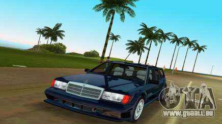 Mercedes-Benz 190E 1990 pour GTA Vice City
