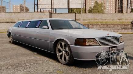 Limousine sur les lecteurs de 22 pouces pour GTA 4
