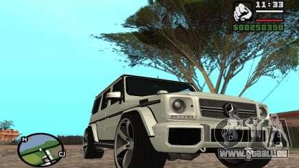 Mercedes-Benz G65 AMG pour GTA San Andreas