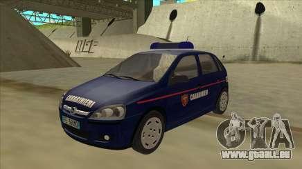 Opel Corsa 2005 Carabinieri pour GTA San Andreas