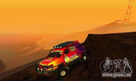 UAZ Patriot essai pour GTA San Andreas vue arrière