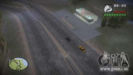 GTA HD mod 2.0 pour GTA San Andreas cinquième écran