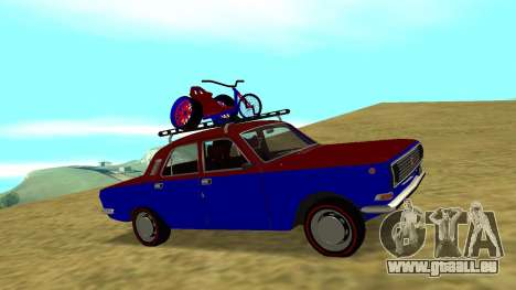 GAZ-24 Volga Spaß für GTA San Andreas Rückansicht