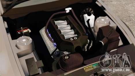 Ford Mustang GT 2013 für GTA 4 Innenansicht