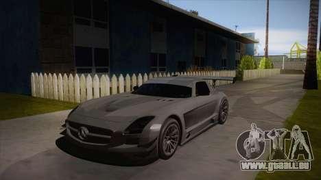 Mercedes-Benz SLS (AMG) GT3 für GTA San Andreas linke Ansicht