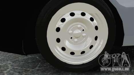 Fiat Palio EDX 1997 für GTA 4 Rückansicht