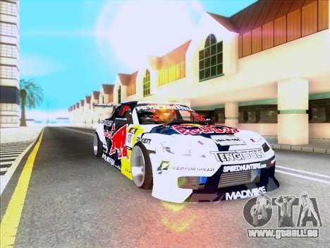Mazda RX-8 NFS Team Mad Mike pour GTA San Andreas vue intérieure