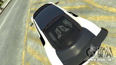 Audi R8 für GTA 4 rechte Ansicht
