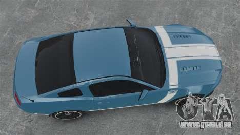 Ford Mustang BOSS 2013 pour GTA 4 est un droit