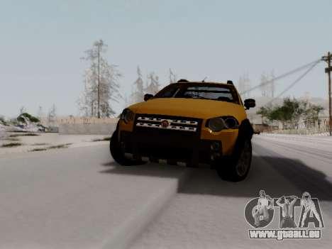 Fiat Strada Adv Locker für GTA San Andreas