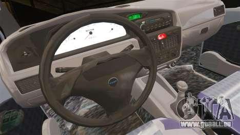 Fiat Palio EDX 1997 für GTA 4 Innenansicht