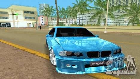 BMW M3 E46 Hamann pour GTA Vice City