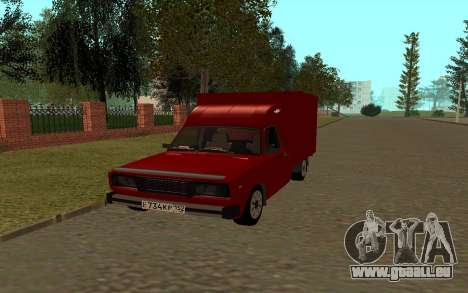 IZH 27175 für GTA San Andreas