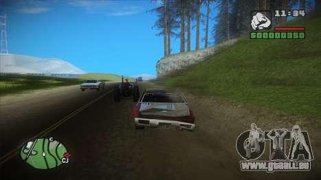 GTA HD mod 2.0 pour GTA San Andreas
