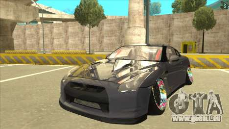 Nissan GT-R R35 Camber Killer pour GTA San Andreas