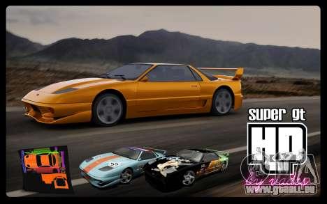 Super GT HD für GTA San Andreas