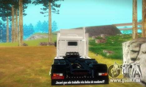 TopLine Scania 113 h 360 pour GTA San Andreas vue de droite