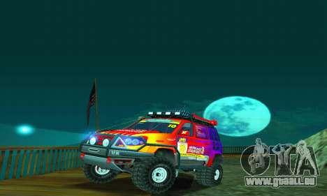 UAZ Patriot-Testversion für GTA San Andreas