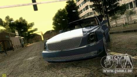Caddy DTS DUB für GTA Vice City