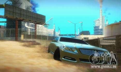 Mercedes-Benz E350 Wagon pour GTA San Andreas laissé vue