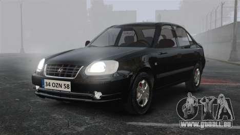 Hyundai Accent Admire pour GTA 4