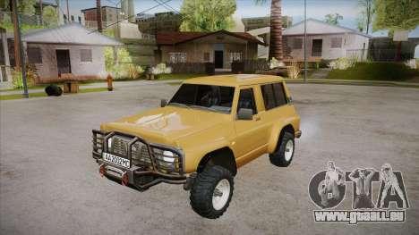 Nissan Patrol Y60 pour GTA San Andreas