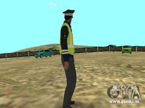 La peau de l'employé DPS pour GTA San Andreas deuxième écran