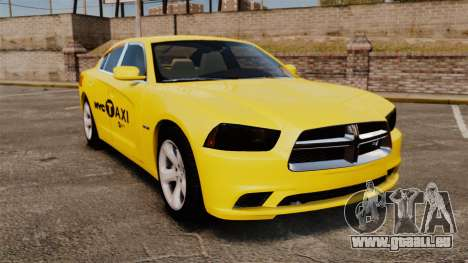 Dodge Charger 2011 Taxi pour GTA 4