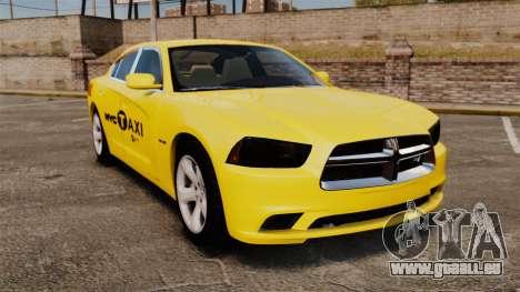 Dodge Charger 2011 Taxi pour GTA 4