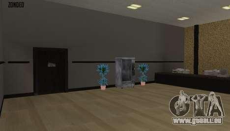 Retekstur l'intérieur de l'hôtel de ville pour GTA San Andreas huitième écran
