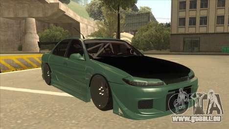 Proton Wira with s15 front end pour GTA San Andreas laissé vue