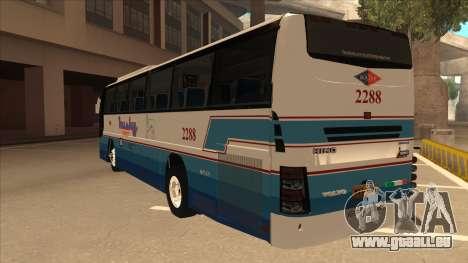 Husky Tours 2288 pour GTA San Andreas vue arrière