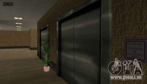 Retekstur l'intérieur de l'hôtel de ville pour GTA San Andreas cinquième écran