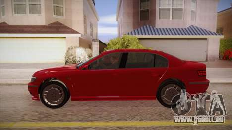 Geely Xiongmao haohaoqing für GTA San Andreas linke Ansicht