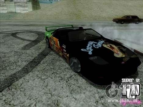 Super GT HD für GTA San Andreas Innenansicht