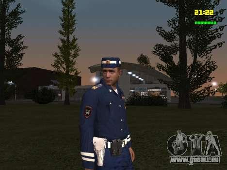 Sergent DPS pour GTA San Andreas deuxième écran