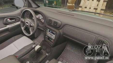 Chevrolet TrailBlazer SS 2008 für GTA 4 Innenansicht
