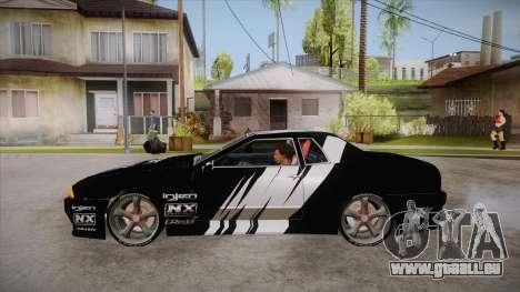 Elegy Touge Tune für GTA San Andreas linke Ansicht