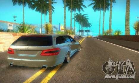 Mercedes-Benz E350 Wagon pour GTA San Andreas vue arrière