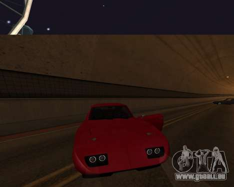 Dodge Charger Daytona für GTA San Andreas Innen