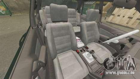 Mitsubishi Galant v2.0 pour GTA 4 est une vue de l'intérieur