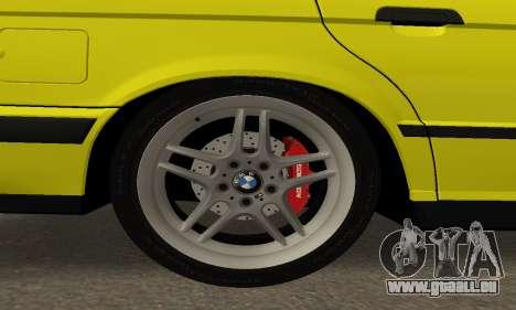 BMW M5 E34 IVLM v2.0.2 pour GTA San Andreas vue de côté