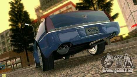 Caddy DTS DUB für GTA Vice City rechten Ansicht