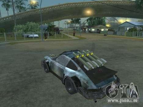 Porsche 911 Death Race für GTA San Andreas linke Ansicht