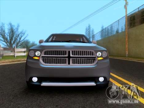 Dodge Durango Citadel 2013 pour GTA San Andreas vue arrière